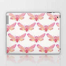 Summer Cicada – Pink Palette Laptop & iPad Skin
