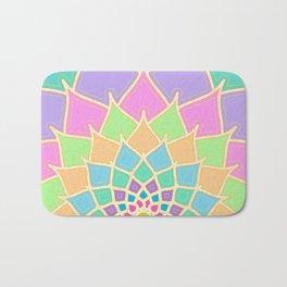 Pastel Lotus Bath Mat