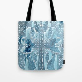 Celtic Blue - JUSTART © Tote Bag
