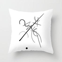 Kandinsky Throw Pillow