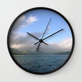 Bonnie Banks Wall Clock