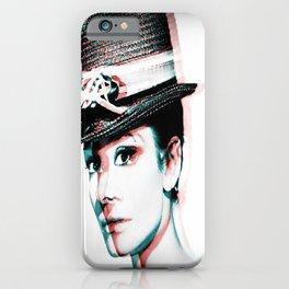 Love Hepburn iPhone Case