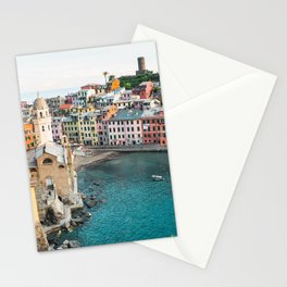 Vernazza, Italy (Landscape) Stationery Cards