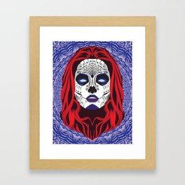 La Calavera Framed Art Print