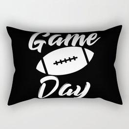 Game Day Football Rectangular Pillow