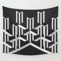 illusion Wall Tapestries featuring Illusion by designpraxis