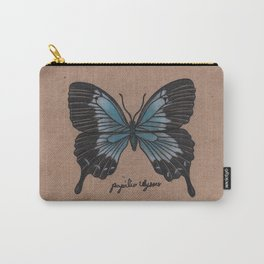 The Ulysses Butterfly - Papilio Ulysses Carry-All Pouch