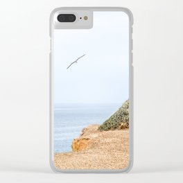 The Cliff Clear iPhone Case