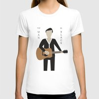 johnny cash T-shirts featuring Johnny Cash by Sarah Duet