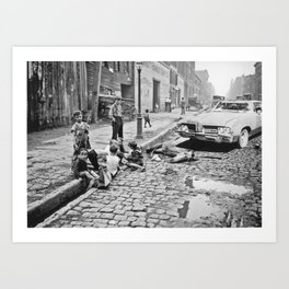 Cutlass in Old New York Art Print