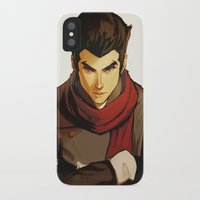 returns iPhone & iPod Cases featuring Mako Returns by Caleb Thomas