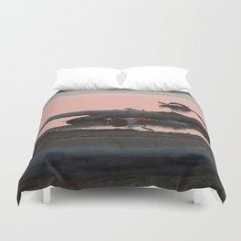 Swan or Driftwood Duvet Cover