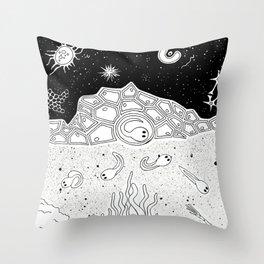 Evolution stage 1 Throw Pillow