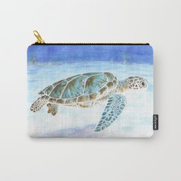 Sea turtle underwater Carry-All Pouch