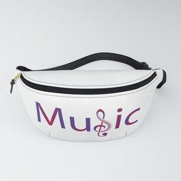Music lover Fanny Pack