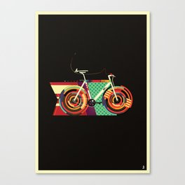 Gamma Bike Canvas Print