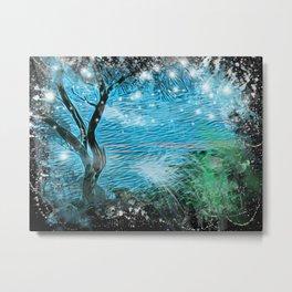 Magical ocean landscape Metal Print