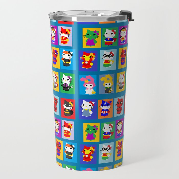 Queen Kitty Travel Mug