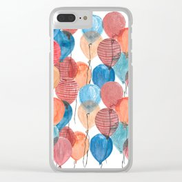 Balloons 2 Clear iPhone Case