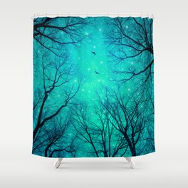 A Certain Darkness Is Needed II Shower Curtain