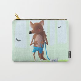wolfy Carry-All Pouch