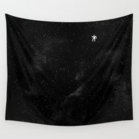 gravity Wall Tapestries featuring Gravity by Tobe Fonseca
