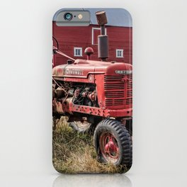 Two Old Reds iPhone Case
