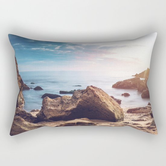 Ocean Rock Rectangular Pillow