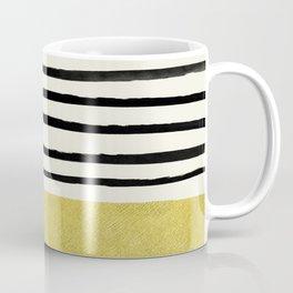 Gold x Stripes Coffee Mug