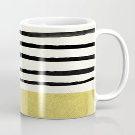 Gold x Stripes Coffee Mug