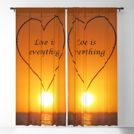 Love is everything Blackout Curtain