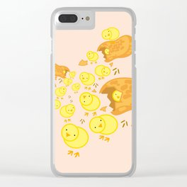 Peanut Chickens Clear iPhone Case