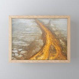 Sunset Sand Framed Mini Art Print