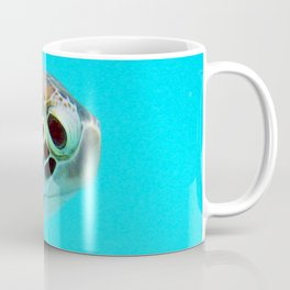 Watercolor Turtle, Green Turtle 15, St John, USVI Coffee Mug