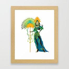 Hera Framed Art Print