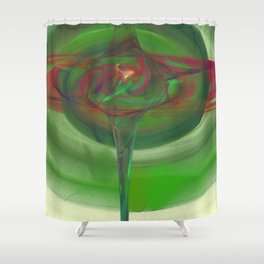 2015 Limited Addition Duvet Cover Extreme Brightly Colored Abstract  Shower Curtain