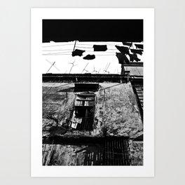 espacios divididos Art Print