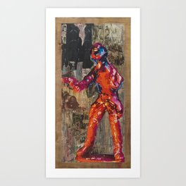 Tango Sierra Art Print
