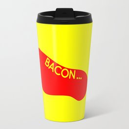 Bacon Foot Tattoo Travel Mug