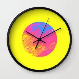 Été Liquide Wall Clock