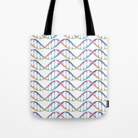 dna Tote Bags featuring DNA by FACTORIE