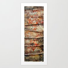 Levels of Hierachy Art Print