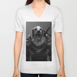 Lord Pup of Caninia Unisex V-Neck