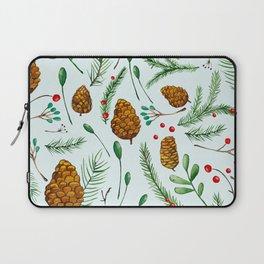 Watercolor pine Laptop Sleeve