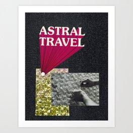 astral travel Art Print