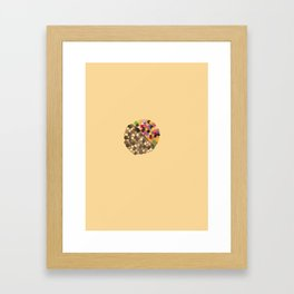 Parallel Pigmentation Framed Art Print