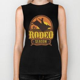 Rodeo Season Biker Tank