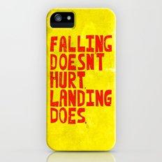 Falling Slim Case iPhone SE
