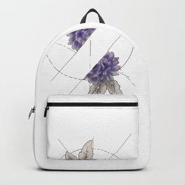 Floral Division Backpack
