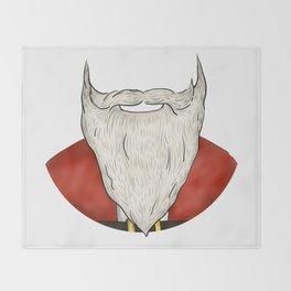 Santa Beard Throw Blanket